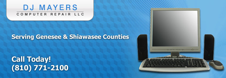 Computer Repair in Genesee and Shiawasee Counties
